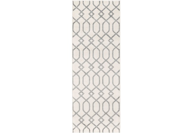 31X87 Rug-Conrad Ivory/Grey - 360
