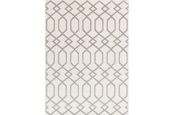 63X87 Rug-Conrad Ivory/Grey