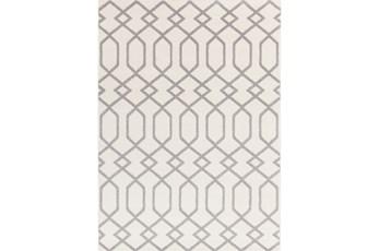 79X114 Rug-Conrad Ivory/Grey