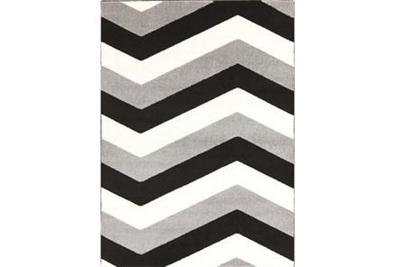 111X150 Rug-Tambaleo Grey/Black/Ivory