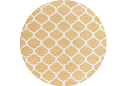 94 Inch Round Rug-Anor Gold