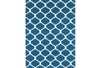 79X114 Rug-Anor Navy