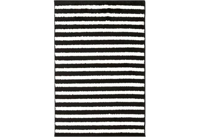 24X36 Rug-Karah Stripe Black - 360