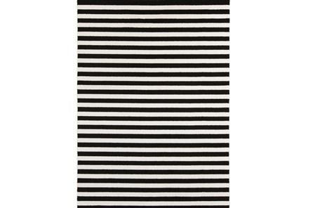 39X60 Rug-Karah Stripe Black