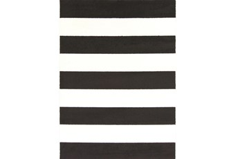 79X114 Rug-Limba Black