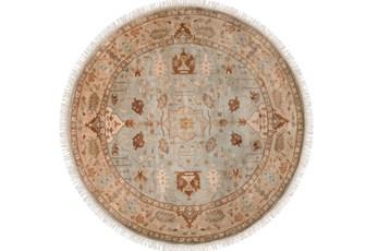 96 Inch Round Rug-Seyhan Beige