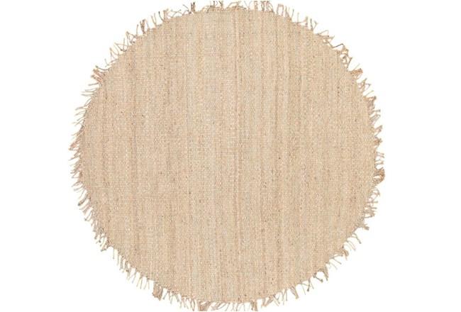 72 Inch Round Rug-Pickett Natural - 360