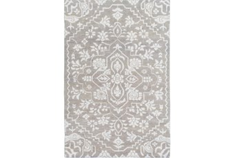108X144 Rug-Jataka Light Grey