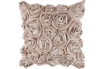 Accent Pillow-Malia Grey 22X22