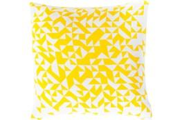 Accent Pillow- Elisa Yellow Pixels 20X20
