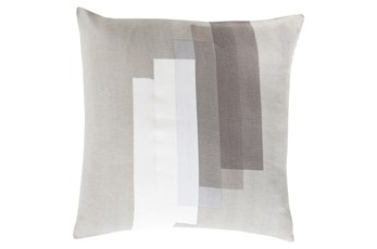 Accent Pillow-Grey Reflections 22X22