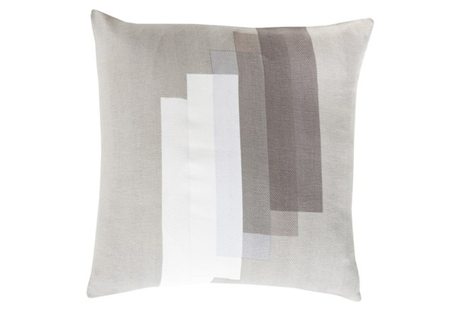 Accent Pillow-Grey Reflections 22X22 - 360
