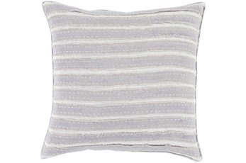 Accent Pillow-Azalea Grey 22X22
