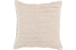 Accent Pillow-Azalea Beige 20X20