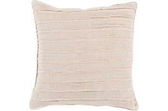 Accent Pillow-Azalea Beige 20X20