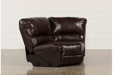 Payton Leather Corner Wedge