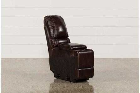 Payton Leather Straight Console W/ Usb Hub