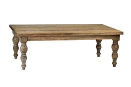 Light Brown Wood Coffee Table