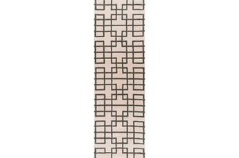 30X96 Rug-Anova Beige/Grey