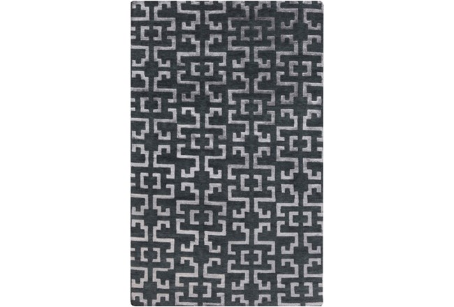 60X96 Rug-Laberinto Charcoal - 360