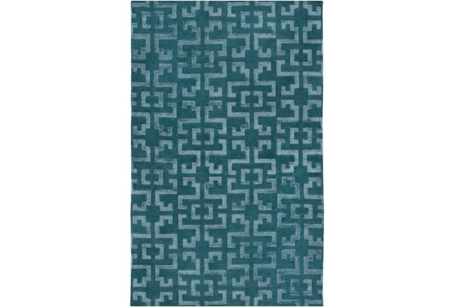 24X36 Rug-Laberinto Teal - 360