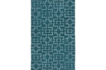 96X132 Rug-Laberinto Teal