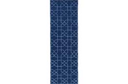 30X96 Rug-Petalo Navy
