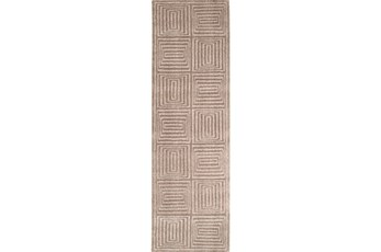 30X96 Rug-Complex Taupe
