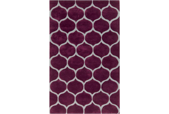60X96 Rug-Giustina Violet - 360