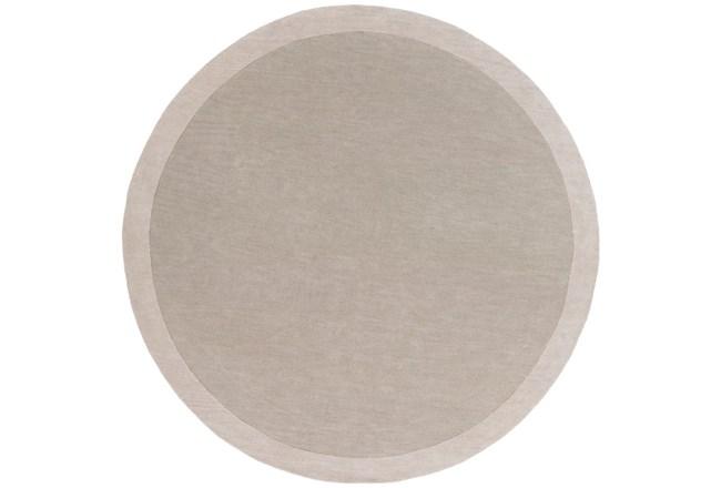 72X72 Rug-Cuadro Round Light Grey - 360