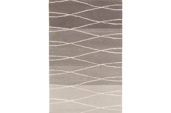 60X96 Rug-Curva Light Grey