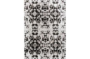 26X36 Rug-Kaleidoscope Grey