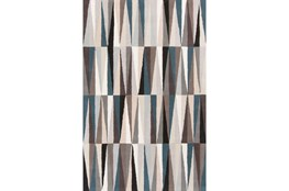 60X96 Rug-Spike Grey/Black/Blue