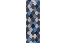 30X96 Rug-Einstein Blue