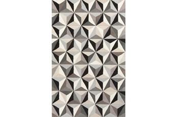 60X96 Rug-Origami Grey/Black/Taupe