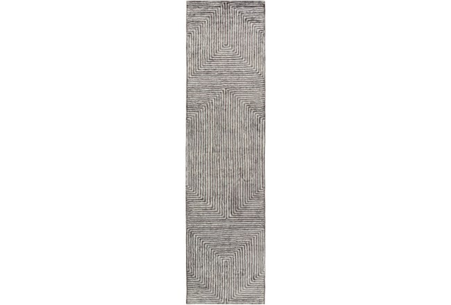 30X120 Rug-Ranura Light Grey - 360