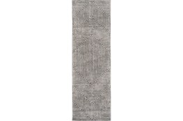 30X96 Rug-Ranura Light Grey
