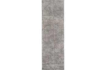 30X96 Rug-Ranura Light Grey