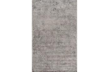 48X72 Rug-Ranura Light Grey
