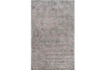 108X156 Rug-Ranura Light Grey