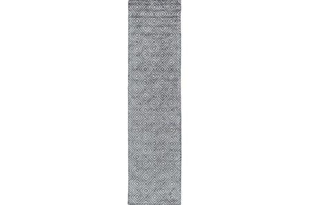 30X120 Rug-Baguette Slate