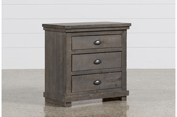 Sinclair Grey Nightstand