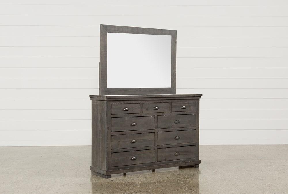 Sinclair Grey Dresser/Mirror