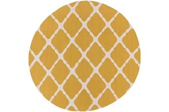 96 Inch Round Rug-Kern Gold