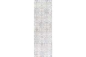 30X96 Rug-Benazir Ivory/Slate