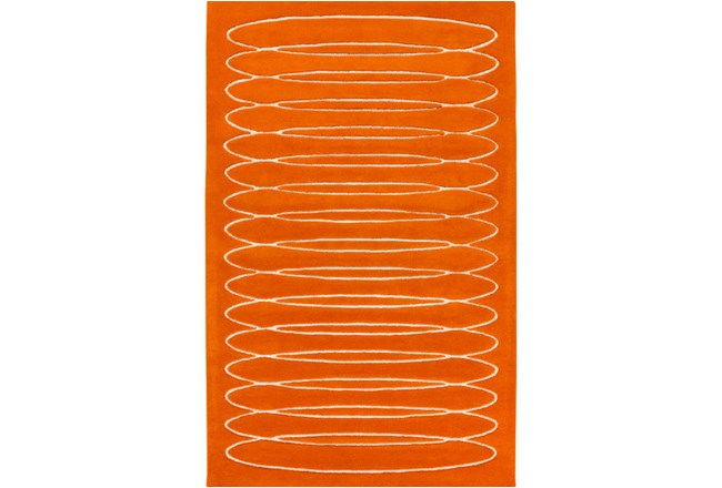 60X90 Rug-Cirque Orange - 360