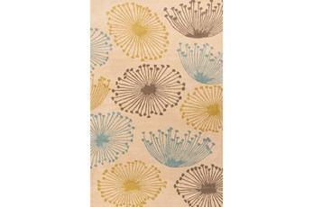 39X63 Rug-Daniela Lime/Blue/Grey