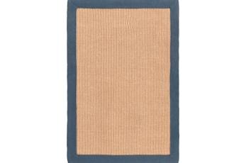 108X156 Rug-Lael Jute Navy