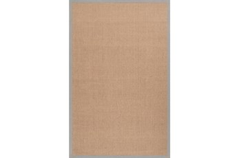 60X96 Rug-Lael Jute Taupe