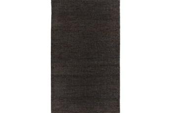 60X96 Rug-Cristobal Jute Black